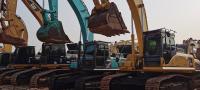#二手挖掘机个人#贵州挖友试机小松130二手挖掘机续集