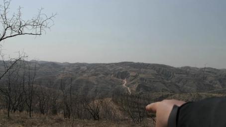 陕西省榆林市实战寻龙点穴,找到一个副结出处级的风水宝地!
